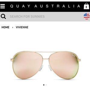 NWOT QUAY Sunglasses